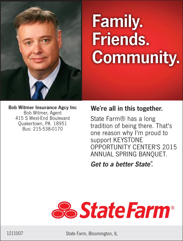 Keystone Opportunity Center Bob Witmer Insurance Agency ...