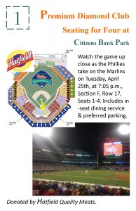 2017 #1 Live Auction Poster (Phillies)